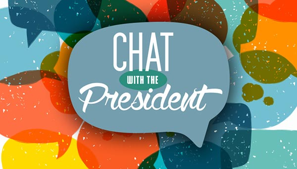 Chat with the President logo