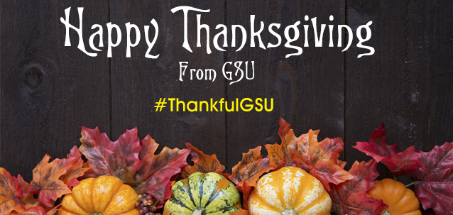 Happy Thanksgiving from GSU