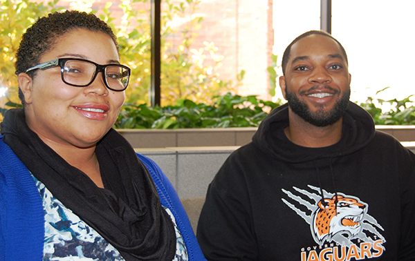 "Jessica Love Jordan and Mychael Vanarsdale are the student panelists for ""Respond to Violence"" on Thursday, November 12 at 6-7 p.m. in Prairie Place's Great Hall."