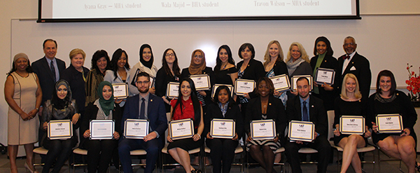 Upsilon Phi Delta Inductees photo