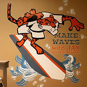 Make Waves with Jax at the Prairie PLace laundry!
